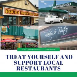 Treat Yourself and Support Local Restaurants