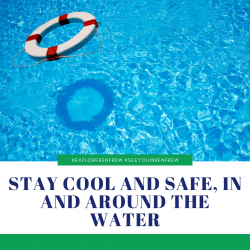 Stay Cool and Safe, in and Around the Water
