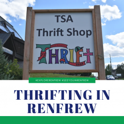 Thrifting in Renfrew