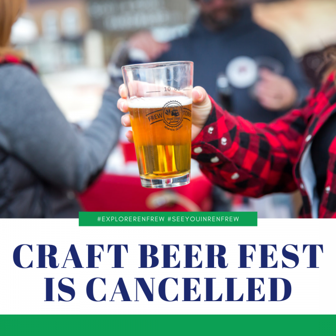 Craft Beer and Food Truck Festival is Cancelled