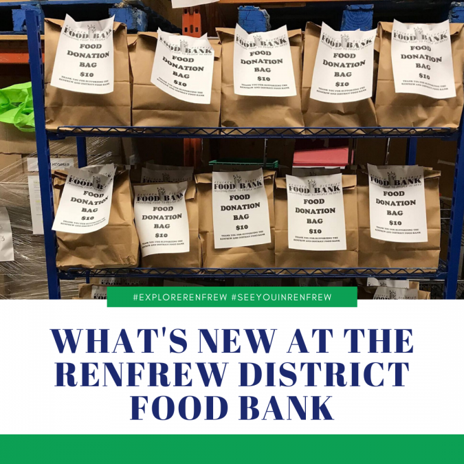 What's New at the Renfrew District Food Bank