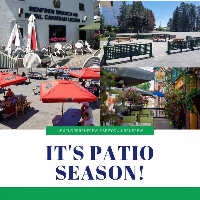It's Patio Season!