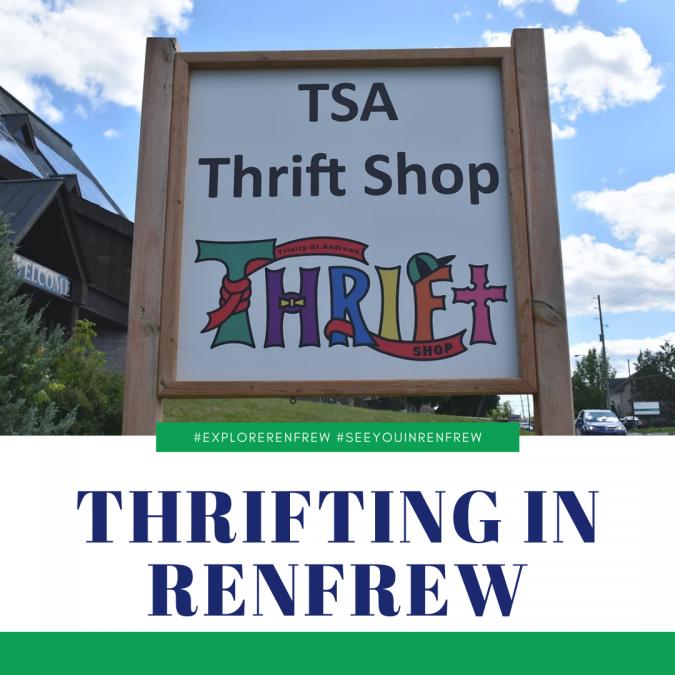 Thrifting in Renfrew