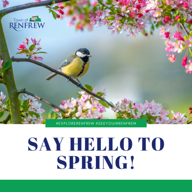 Say Hello to Spring!